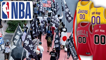 NBA pulls custom gear from online store following 'Free Hong Kong' controversy