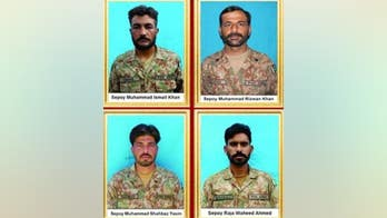 4 Pakistani troops, 4 militants killed in shootout, military says
