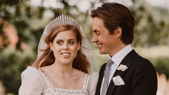 Princess Beatrice marries in Queen Elizabeth's dress, tiara