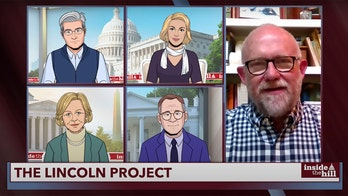 Rick Wilson, The Lincoln Project portrayed as 'grifters' during interview on Colbert animated news show
