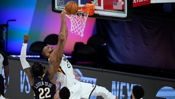 Gobert lifts Jazz past Pelicans 106-104 in NBA restart