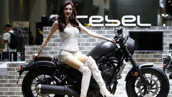 Masked models: Bangkok motor show opens with COVID-19 protocols in place