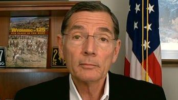 Sen. John Barrasso on Pelosi's failure to denounce statue destruction: 'She has surrendered to the mob'