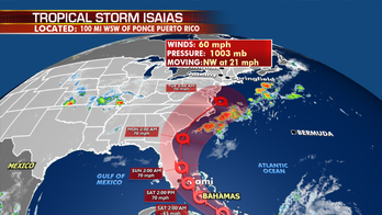 Tropical Storm Isaias: Americans should start preparing for 'winds, heavy rainfall and storm surge,' hurricane center says