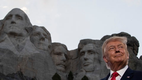 PHOTOS: Trump's Rushmore speech kicks off 4th of July celebrations