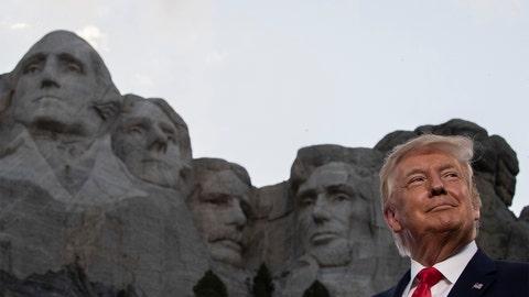 PHOTOS: Trump's Rushmore speech kicks off 4th of July celebrations