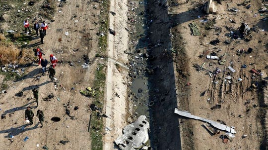 France says voice data from Ukrainian jet shot down by Iran has been recovered