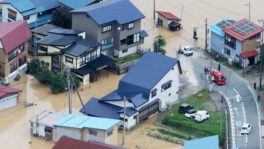 Flooding, mudslides hit northern Japan after heavy rainfall