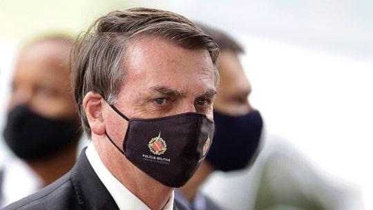 Brazilian President Jair Bolsonaro suggests coronavirus made in lab to wage 'biological warfare': reports