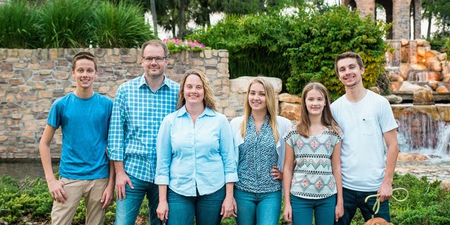 "Ryan Petty and his family in a family picture. Petty is credited with helping to pass the ""Marjory Stoneman Douglas High School Public Safety Act"" just weeks after his daughter Alaina was murdered. Source/Ryan Petty"