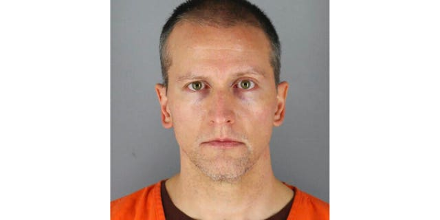 FILE: This photo provided by the Hennepin County Sheriff shows former Minneapolis police Officer Derek Chauvin, who was arrested for the May 25 death of George Floyd.