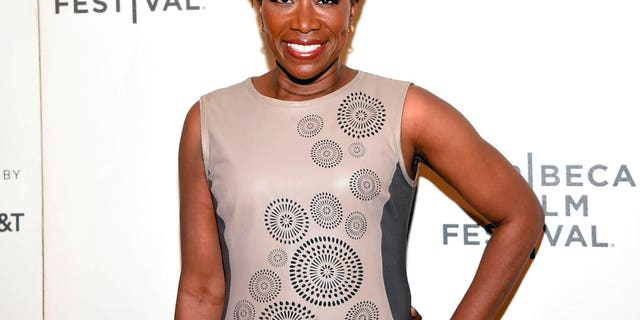 "FILE: Joy Reid attends the Tribeca TV screening of ""Rest in Power: The Trayvon Martin Story"" during the 2018 Tribeca Film Festival in New York."