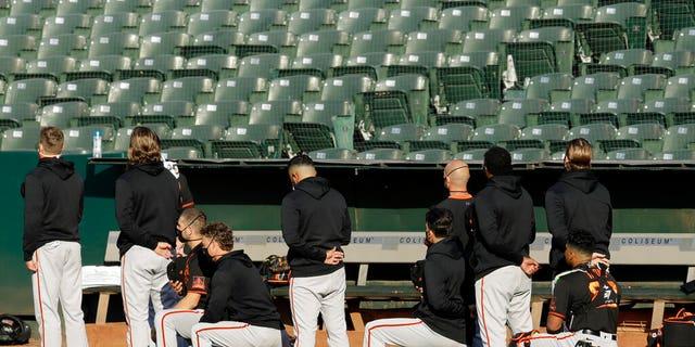 Giants' Jaylin Davis appreciates support for kneeling during anthem