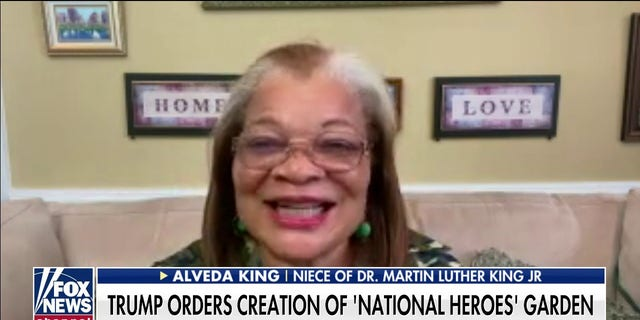 Alveda King, a niece of the late civil rights leader Martin Luther King Jr.