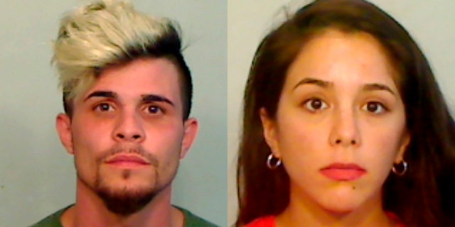 Jose Antonio Freire Interian and Yohana Anahi Gonzalez (Monroe County Sheriff's Office via AP)