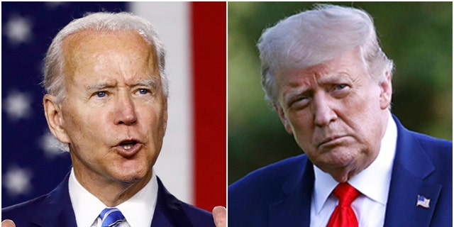 President Trump and presumptive Democratic nominee Joe Biden took jabs at one another's faith Thursday, Aug. 6, 2020 ahead of November's presidential election.