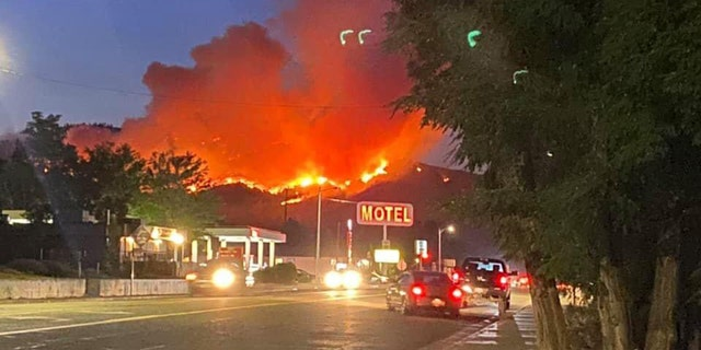 Evacuations have been ordered in a Northern California community due to the Badger Fire.
