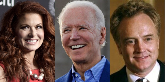 Celebrities like Debra Messing and Bradley Whitford will lend some social media help to Joe Biden's campaign.