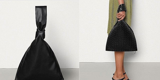 Fashion police have a whole lot to say about the pricey purse by Bottega Veneta, pictured.