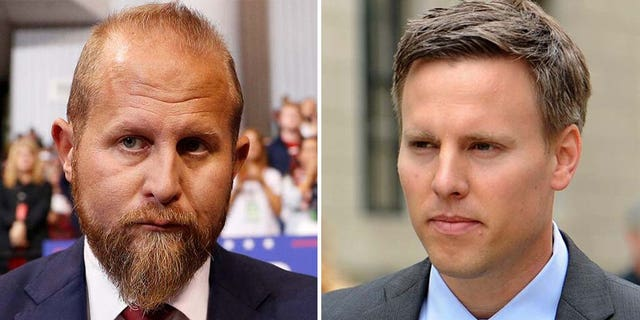 Demoted Trump campaign manager Brad Parscale (left) and newly-named manager Bill Stepien (Reuters, AP)