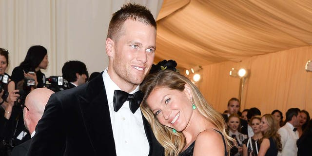 Tom Brady and Gisele Bundchen attend the 'Charles James: Beyond Fashion' Costume Institute Gala at the Metropolitan Museum of Art on May 5, 2014, in New York City. (Photo by George Pimentel/WireImage)