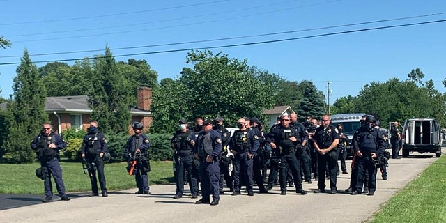 The LMPD told Fox News that dozens of police officers at the Louisville Metro Police Department helped Greymoore Devondale's police because
