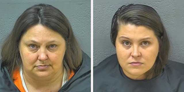 Shannon Tipton, left, and Brianna Tipton face neglect and abuse charges.