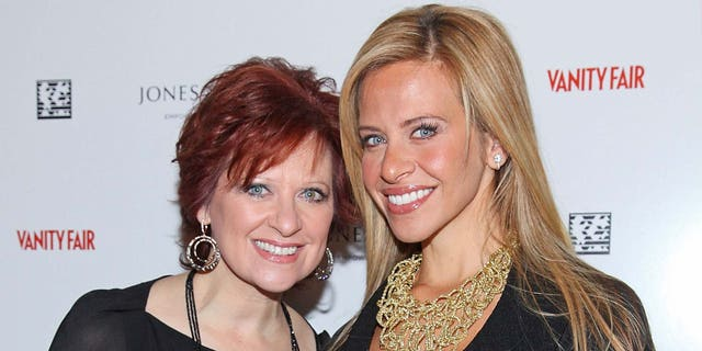 Television personalities Caroline Manzo (L) and Dina Manzo attend the First Annual Jones New York power lunch at The Campbell Apartment on September 23, 2010 in New York City.