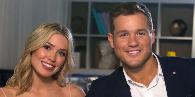'Bachelor' stars Cassie Randolph and Colton Underwood.