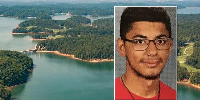 Authorities saidCristofer Acosta-Farias, 17, died while swimming in Lake Lanier in Georgia
