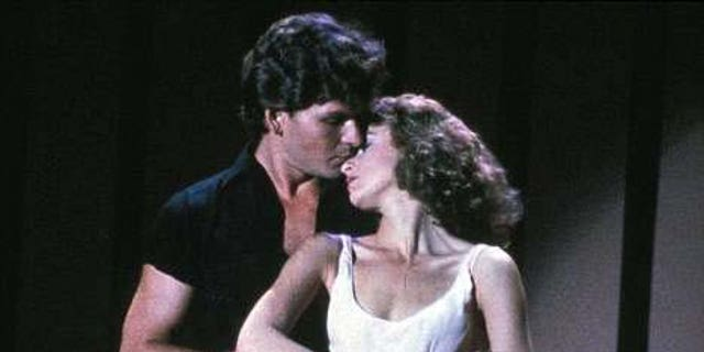 Patrick Swayze (left) and Jennifer Grey in 'Dirty Dancing.'