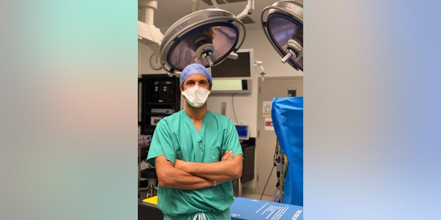 Dr. Ismail El-Hamamsy, director of aortic surgery for the Mount Sinai Health System, conducting an aortic procedure - file photo(Photo credit: Mount Sinai Health System)