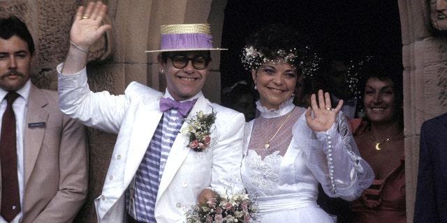Elton John marriedRenate Blauel in 1984.