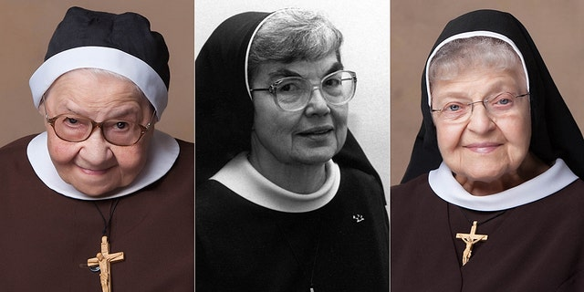 Three of the 13 nuns pictured: Sr. Mary Luiza Warzyniak, 99, died April 10; Sr. Celine Marie Lesinski, 92, died April 12; and Sr. Mary Danatha Suchyta, 98, died June 17.