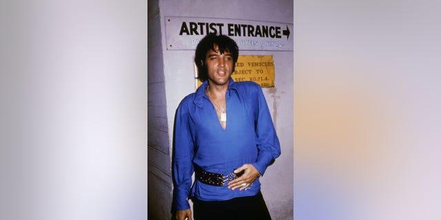 Elvis Presley, circa 1970.