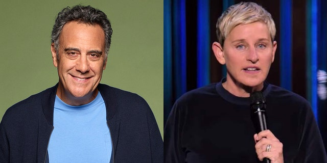 Brad Garrett called out Ellen DeGeneres for her apology to staff.