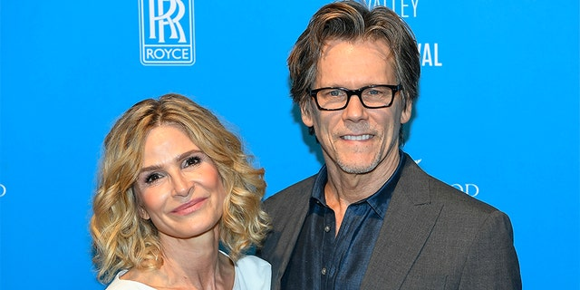 (L-R) Kyra Sedgwick and Kevin Bacon have been married for 32 anni.