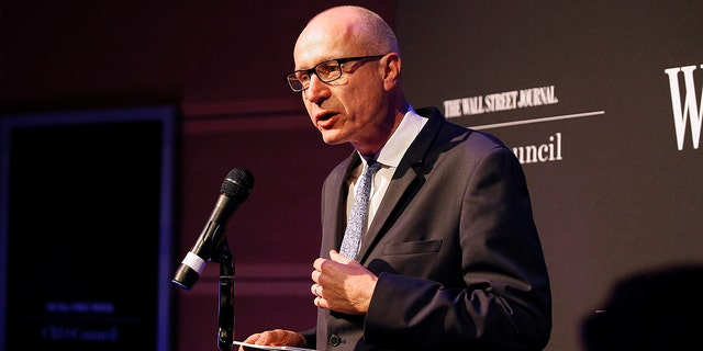 digital products Robert Thomson, CEO of News Corp speaks at The Newseum on December 9, 2019 in Washington, DC. (Photo by Paul Morigi/Getty Images for The Wall Street Journal )