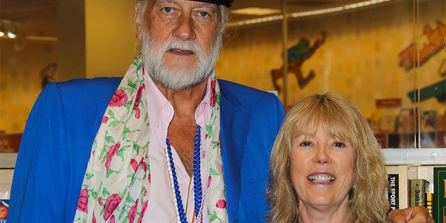Mick Fleetwood (L) and Jenny Boyd (R).