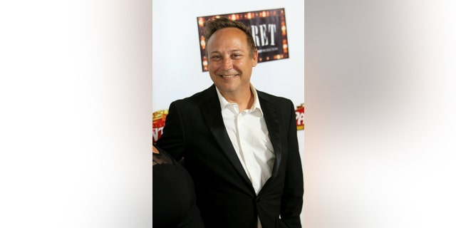 Actor Keith Coogan arrives at the opening of 'Cabaret' at the Pantages Theatre on July 20, 2016, in Hollywood, Calif.