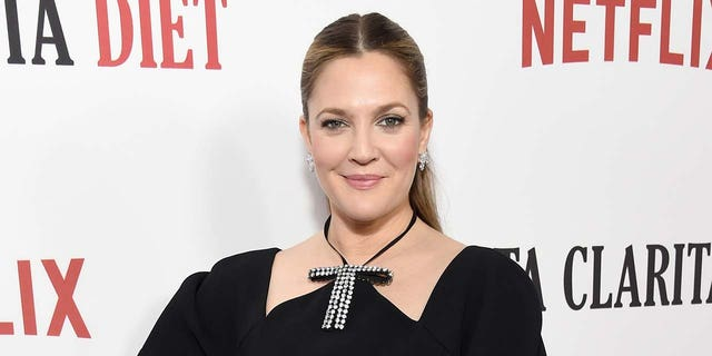 "Actress Drew Barrymore attends the ""Santa Clarita Diet"" Premiere on February 1, 2017, in Los Angeles, Calif. (Photo by Michael Kovac/Getty Images for Netflix)"