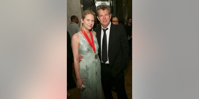 Amy Foster and David Foster attend the 55th Annual BMI Pop Awards at the Regent Beverly Wilshire Hotel on May 15, 2007, in Beverly Hills, Calif.