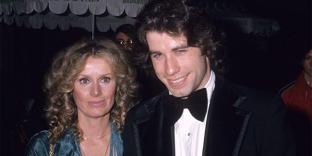 John Travolta and Diana Hyland.