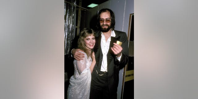 Stevie Nicks and Mick Fleetwood of Fleetwood Mac