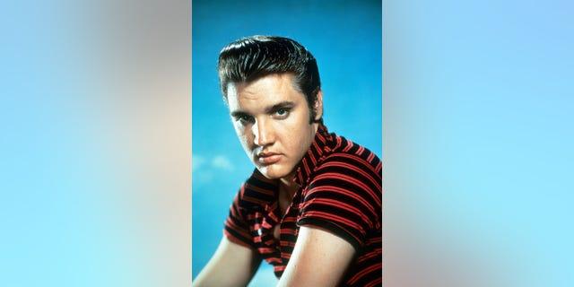 Elvis Presley, circa 1955.