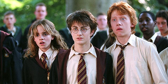 Daniel Radcliffe (middle) made his claim to fame as Harry Potter in the popular film franchise.