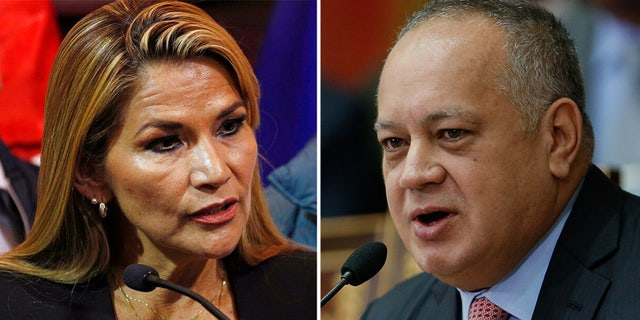 Bolivian leader Jeanine Anez and Venezuelan socialist party chief Diosdado Cabello announced they had tested positive for COVID-19.