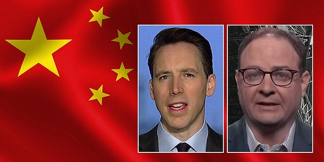 Sen. Josh Hawley, R-Mo., claimed on Friday that ESPN's top NBA reporter Adrian Wojnarowski sent him a profane message in response to criticism of the league's relationship with China.