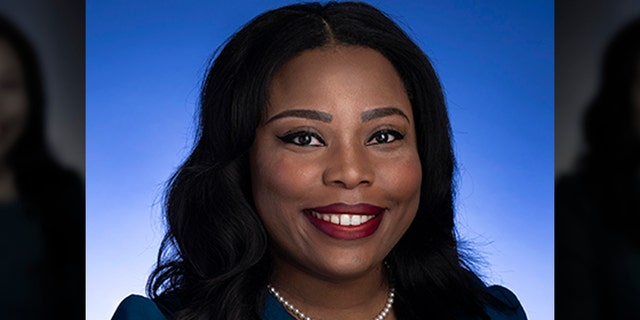 In the photo provided by the Tennessee State Senate, Tennessee State Senate Katrina Robinson posed for a photo in Nashville, Tenn., D (Tennessee State Senate via AP)