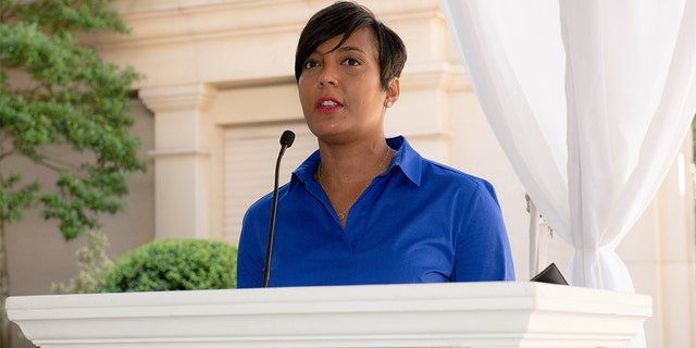 Mayor Keisha Lance Bottoms is seen onstage at St. Regis Buckhead on June 17, 2019 in Atlanta, Georgia. (Photo by Marcus Ingram/Getty Images for City Of Hope)